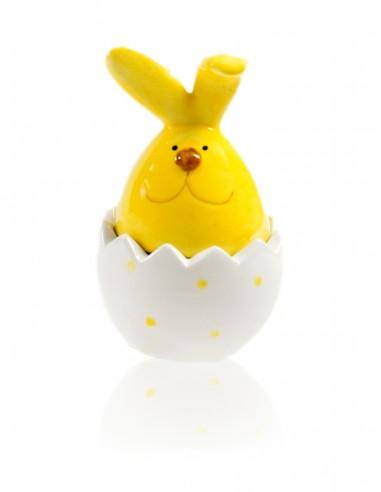 portacandela uovo coniglietto